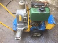 Diesel Pump Electric Start.