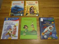 5 GERMAN books - for first readers - 5 Deutsche Erstlesebuecher