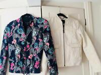 Two springtime jackets Banana Republic XXS