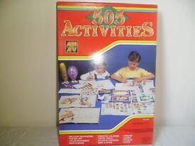 505 ACTIVITIES,UNOPENED BOX OF CHILDREN'S CRAFT ACTIVITIES