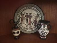 Greek and Cypriot decorative ceramics