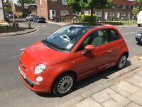 Fiat 500 1.4 16v Lounge 3dr Very Low Mileage, 12months MOT