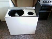 Twin Tub Washing Machine (Sold subject to payment)