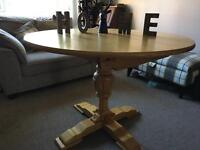 **FOR SALE** Oak Extending Dining Table - Upcycle Project