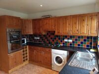 Kitchen units, double integrated oven and hob. Collection only and must dismantle.