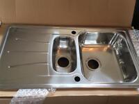 Reginox 1.5 bowl stainless steel sink