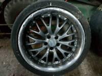 Volkswagen 5x100 alloy wheels x 4
