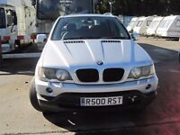 SPARES or REPAIRS...BMW X5 2001 + PRIVATE PLATE