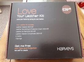 Leather Cleaning and Care Kit x 2 from Harveys