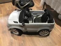 Range Rover self driving electric toy car