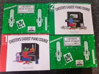 2 x Learn To Play Piano Books