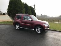 2017 Mitsubishi Shogun 3.2 DID Warior Commercial only 10k miles as new condition +++ local jeep +++