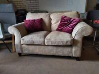 Lovely Glendale Fabric 2 seater Sofa Settee Deliv Poss