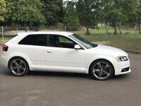 Pristine Audi A3 S Line White 2011