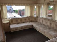 Static caravan for rent £150 per week electric and water included