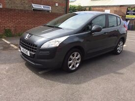2010 Peugeot 3008 1.6 HDI Automatic, FSH, Great Condition, Low mileage
