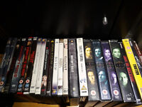 23 DVDs Movies and TV Shows, different genres