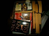 Boxes of books x3