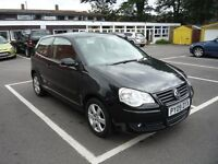 VW Polo 1.2 , 3 dr, 2 owners ,serv history, 15' alloys, cheap to insure low milage 26000