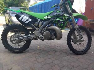 2005 Kawasaki kx 250 amazing bike