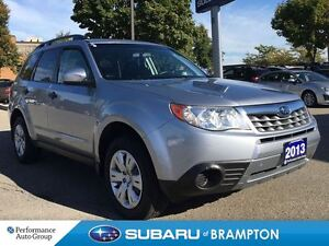2013 Subaru Forester 2.5X |ACCIDENT FREE| |HIGHWAY KM|