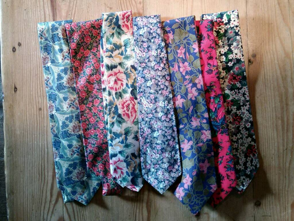 Mens classic Liberty Tana Lawn ties, to be sent by post