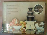 New cream Hinari Party Time Chocolate Fondue Fountain