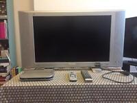 "Philips 30"" Flat Screen TV + Digibox"