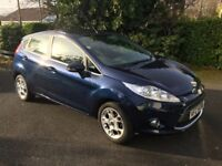 2011 Ford Fiesta Zetec (Automatic) 1.4l, 5D Hatchback. Good Condition. Very low mileage, 9800 miles.