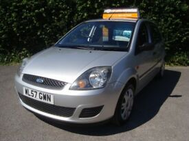 FORD FIESTA STYLE 1.25 5 DOOR finished in metallic SILVER