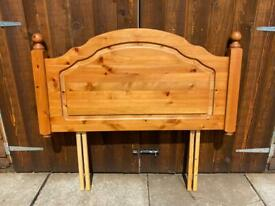 Single Pine Headboard - Can Deliver