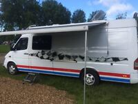 Mercedes sprinter camper/race van 2003 excellent example.. fully loaded