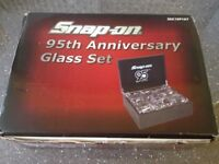 Snap On 95th Anniversary Glass Set