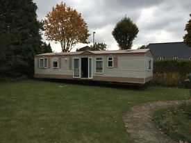 Cosalt Eclipse Static Caravan 37'x12'. 3 beds 2 bath. Full winter pack