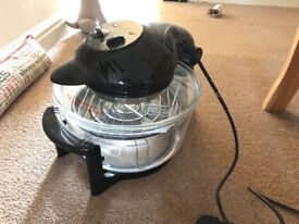 Halogen cooker complete used twice