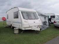 Sterling Europa 500L 5 berth Caravan complete and ready to use **REDUCED IN PRICE**