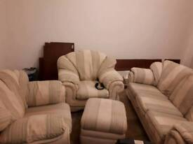 Pre-owned sofas in good condition free transport within 5 miles radius
