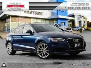 2015 Audi A3 INTEREST RATE AS LOW AS 0.9%