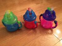 Nuby/PC straw cups