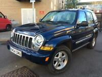 JEEP CHEROKEE 2005 4WD CRD ** FSH ** FULL LEATHER ** 6M WARRANTY
