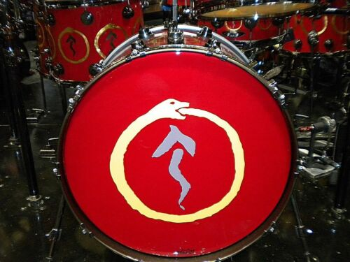 Rush Neil Peart Drum Set Replica Mini Drum Kit Model