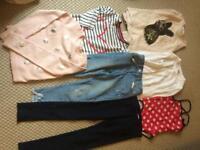 Bundle girls clothes 8-10 yrs