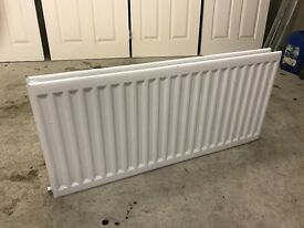 Double radiator 1160 x 530 fitted but never used