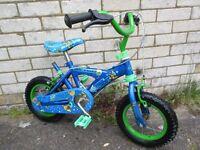 Boys first bike