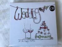Brand new boxed wedding photo album £10