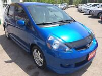 2007 Honda Fit Sport / LOADED / ALLOYS
