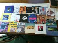 20 various 1980s 1990s 7 inch