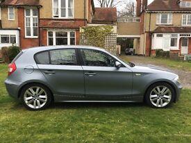 BMW 116i Sport, 5 door, petrol in metallic blue