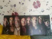 WALKING DEAD CANVAS