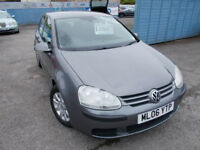 STUNNING GOLF 1.9 TDI SE , NEW CLUTCH AND FLY WHEEL FITTED ,FREE MOTS ,P,S,H WARRANTY ,FINANCE ME !!